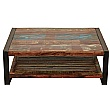 Accrington Reclaimed Wood Rectangular Coffee Table