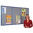 Shield Resist-A-Flame Coloured Frame Multibank Noticeboards