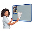Resist-a-Flame Coloured Frame Shield Noticeboard