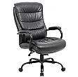 Citadel 27 Stone Heavy Duty 24 Hour Leather Faced Manager Chair