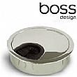 Boss Design Chrome Cable Port