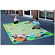 Back to Nature Bee Maze Outdoor Play Mat