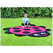 Back to Nature Ladybird Shaped Outdoor Play Mat
