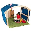 PlayScapes Indoor/Outdoor Folding Den
