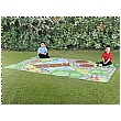 Back To Nature Garden Outdoor Mat