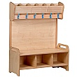 PlayScapes Freestanding Cloakroom Unit