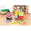Children of the World Donut Cushions & Trolley Set