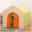 PlayScapes Giant Den Orange & Lime