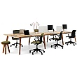Martin Bench Desks - 6 Person