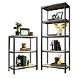 Foundry Industrial Style Bookcases- Charter Oak
