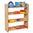 Maple 4 Shelf Bookcase
