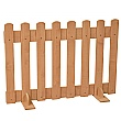 Maple Picket Fence