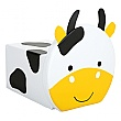 Children's Cow Pouffe