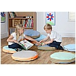 Pastel Round Story Cushions Variety (Pack of 10)