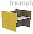 Triumph Rectangular Phonic Acoustic Back To Back 2