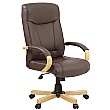 Farnham Executive Brown Leather Manager Chair