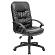 Cadiz Leather Faced Manager Chair