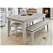 Autograph Solid Wood Rectangular Dining Table