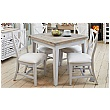 Autograph Solid Wood Square Dining Table