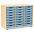 Splash Triple Column 24 Tray Storage Unit