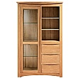 Addison Solid Oak Display Cabinet