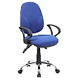 Comfort Ergo 3-Lever Chrome Operator Chairs